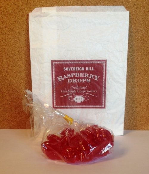 Raspberry Drops 115g