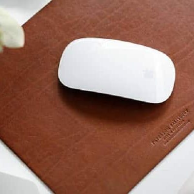 leather mouse mat main
