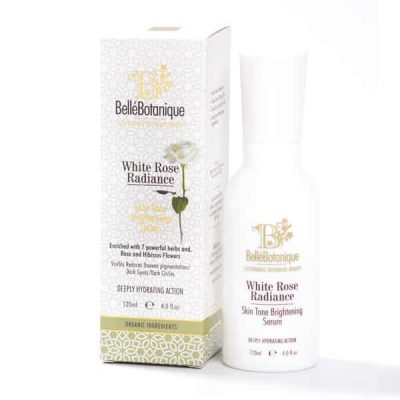 white rose brightening serum