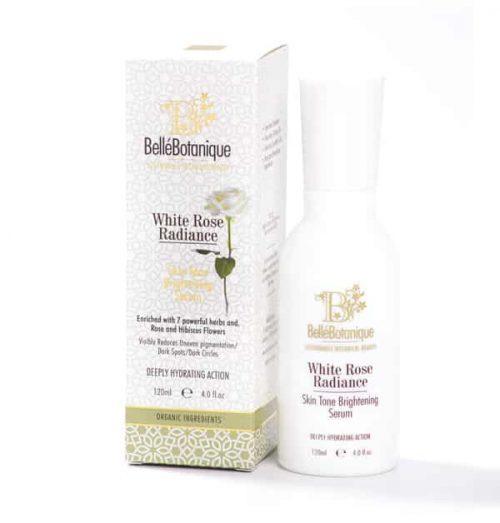 white rose brightening serum