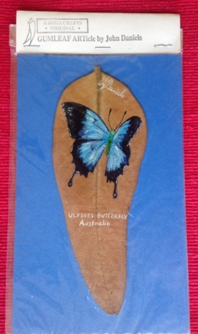 ULYSSES BUTTERFLY HAND PAINTED
