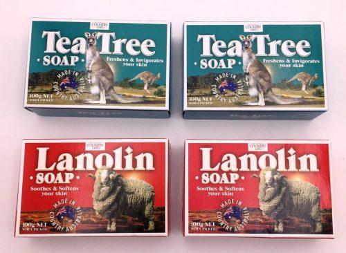 soap – tea tree and lanolin