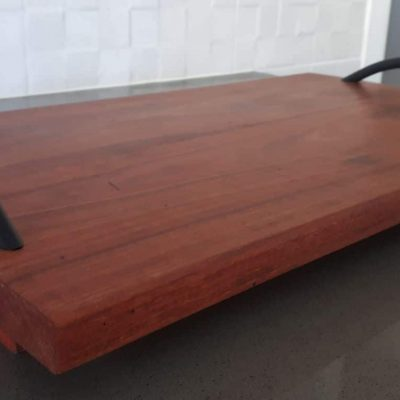 QLD redwood serving trayB