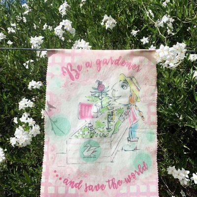 girls gardener