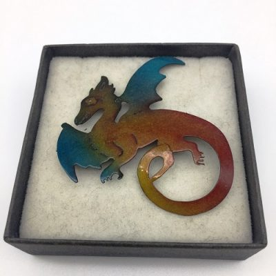 madeinaustralia.100-DRAGON BROOCH