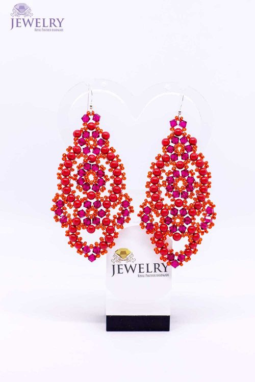lana-red-Crystal-round-earrings-with-Swarovski-elements-1500