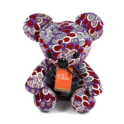 tusam-Oala Koala Original Aboriginal Art Purple 1_tn