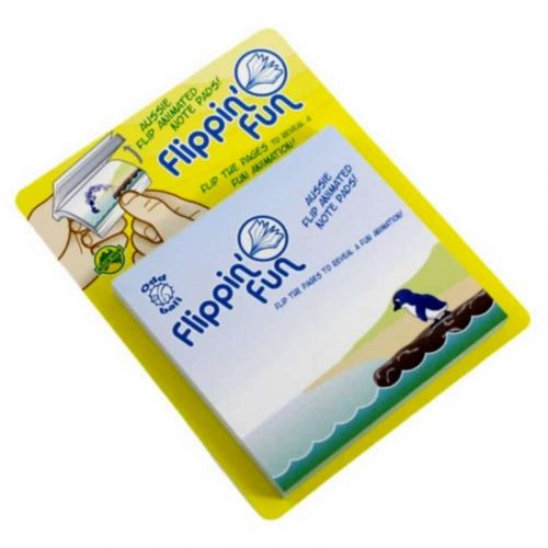 tusam-Australia Made Souvenir Note Pad Book Flippin' Fun Fauna Penguin 3_tn