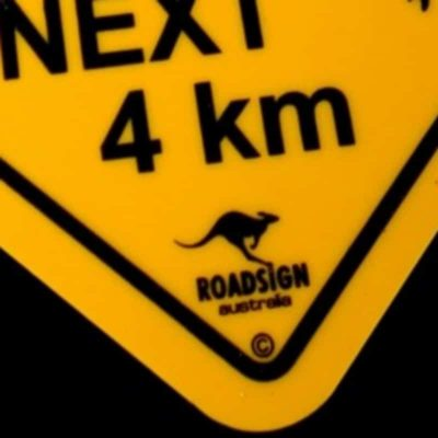tusam-Australian Made Souvenir Roadsign Car Window Suction Swing Sign Koala 2_tn