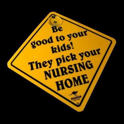 tusam-Australian Made Souvenir Roadsign Car Window Suction Swing Sign Nursing Home 1_tn