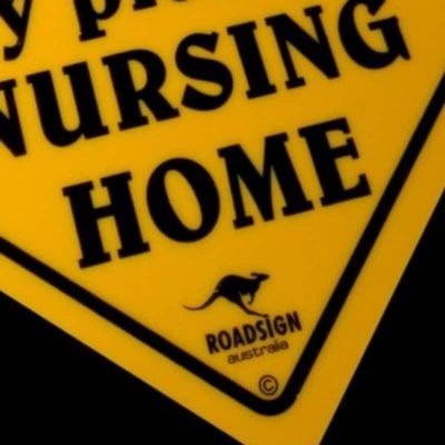 tusam-Australian Made Souvenir Roadsign Car Window Suction Swing Sign Nursing Home 3